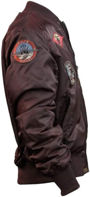Top Gun\u00ae MA-1 Tomcat Nylon Bomber Jacket 100/% Authentic