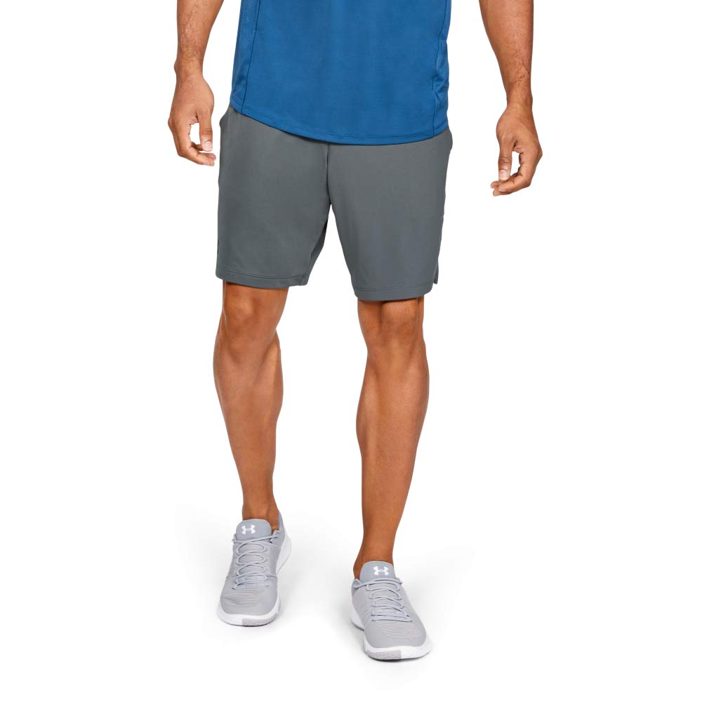 Under Armour Men's MK1 Shorts, Pitch Gray (012)/Black, Medium by Under Armour