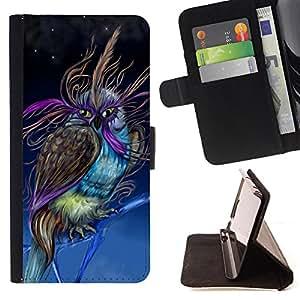 - Owl Owls Cute Chevron Aztec/ Personalizada del estilo del dise???¡Ào de la PU Caso de encargo del cuero del tir????n del soporte d - Cao - For Sony Xperia Z2 D6502