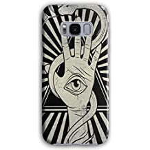 Fashion Illuminati Eye Hand Vision 3D Samsung Galaxy S8 Case | Wellcoda