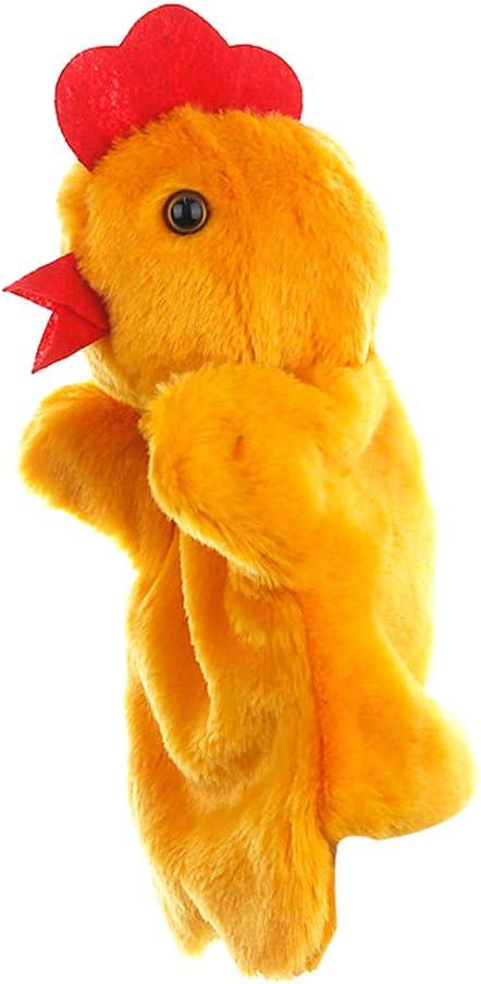 YiGo Pollo Marioneta Animal De Dibujos Animados De La Marioneta De Mano De Gallina para Niños Juegos De rol Juego Interactivo Guantes Mullido De Marionetas