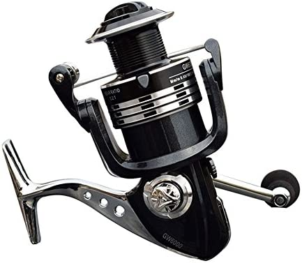 REGALXIA Spinning Wheel Fishing Carrete 14BB Blindado Ball 5.2:1 Fibra De Carbono Drag Agua Salada O De Agua Dulce Innovación De Metal Sin Carretes Gap ,1000: Amazon.es: Deportes y aire libre