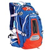 Camelbak Men's M.U.L.E. NV Hydration Pack (100-Ounce/671 Cubic-Inch, Skydiver Blue/Orange), Outdoor Stuffs