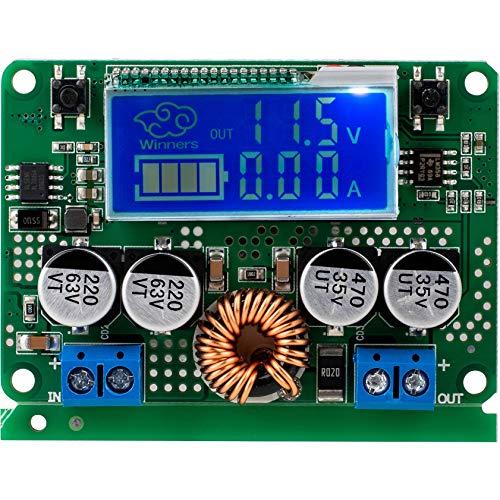 Parts Express 7A DC 60V Adjustable Step Down Regulator NC Power Supply Current Voltage Meter Buck Module