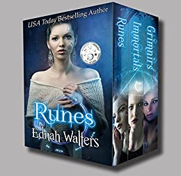 Runes Boxed Set (Books 1-3, YA Paranormal Romance): Runes Series by [Walters, Ednah]
