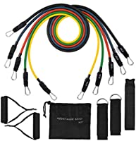 Resistance Bands,TOPELEK Resistance Bands Set & Updated with New Model Door Anchor & Band Guard,Fitness Tubes Set for...