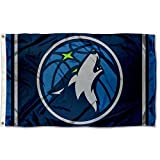 WinCraft NBA Minnesota Timberwolves 3x5 Banner Flag