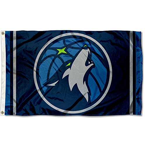 WinCraft NBA Minnesota Timberwolves 3x5 Banner Flag by WinCraft