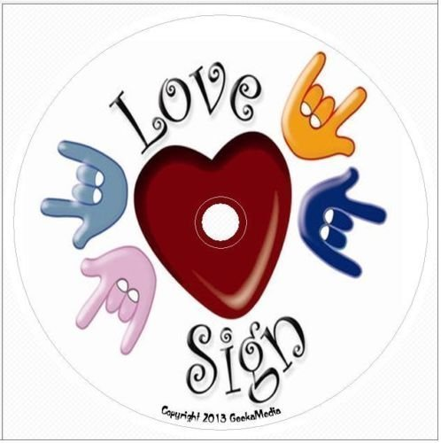 Learning American Sign Language: Book and Flash Cards on Disc
