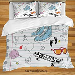 Makeover and refresh your bedrooms every season with just a single touch! Start with these fun and decorative Duvet Cover Sets. These unique designs match well with various color palettes of your rugs, curtains, headboard, furniture, and all ...