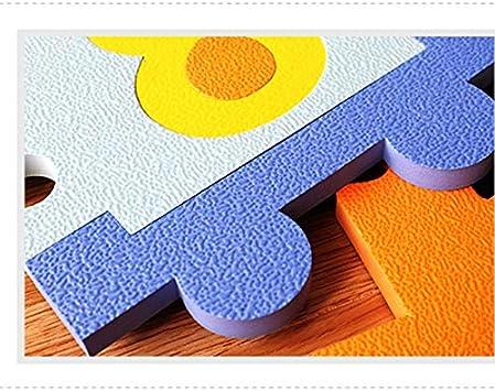 La familia del juego Puzzle Floor Mats 8 piezas entrelazadas espuma Azulejos Juguetes Ejercicio arrastre Tapetes juegos Vida suave Rotective alfombra beb/é infantil Protecci/ón Sala juegos,Flower