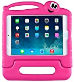 iPad Mini Case for Kids - SIMPLEWAY Ultra Lightweight Shockproof protected Folding Stand Cover for iPad Mini 1st 2nd 3rd Generation - Rose