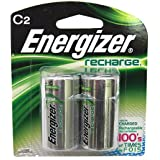 Energizer C Nimh 2pk Rechrgble Battery