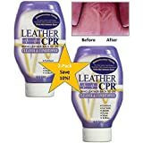 Leather CPR (Spring Cleaning 2PK /18oz Bottles) - Irritant-Free Leather Cleaner & Conditioner for Your Home – Works Wonders on Furniture, Jackets, Shoes, Auto & More