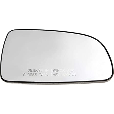 For Toyota Camry 07-11 Driver Side Mirror Glass w Backing Plate Non-Heated