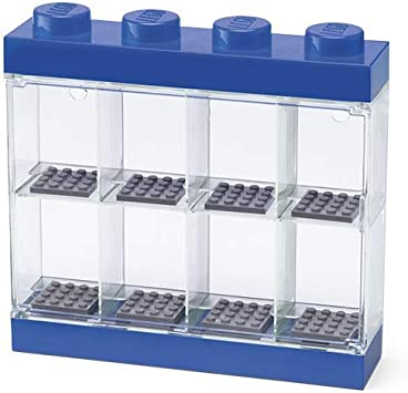 Room Copenhagen- Lego-Caja de almacenaje para Minifiguras con diseño de ladrillo 8, Color Azul 40650005: Amazon.es: Juguetes y juegos