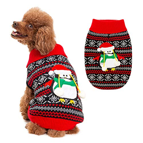 BINGPET Turtleneck Dog Sweater