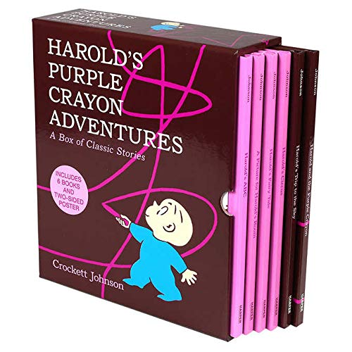 Harold's Purple Crayon Adventures: 6 Picture Book Box Set