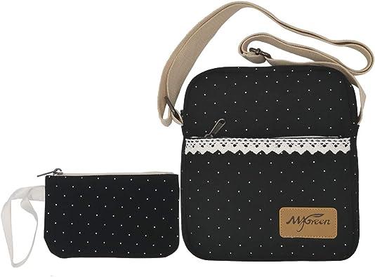 Kids Lace Star Flower Small Handbag Satchel Messenger Cross Body Bag Purse one