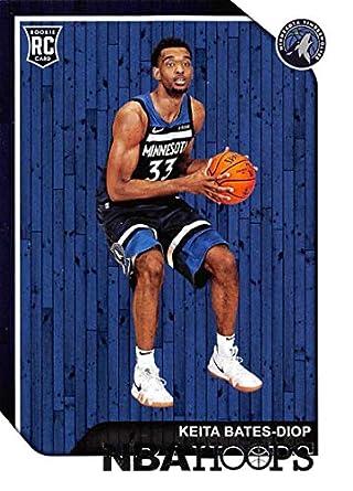 2018-19 Panini Hoops  245 Keita Bates-Diop Minnesota Timberwolves  Basketball Card ef70a0094