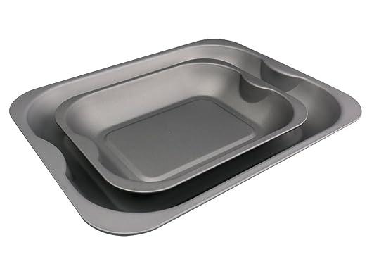 Fuente para horno grande y mediano Set (cm & 28 cm) - con teflón ...