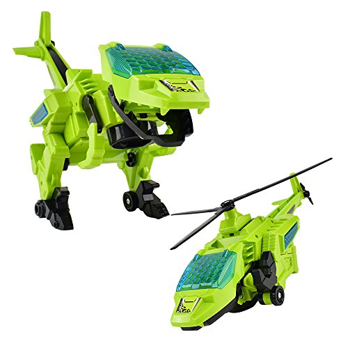 Helicopter Transform Plastic Dinosaur Transform Robot Dinosaur Toy Airplanes for Toddlers