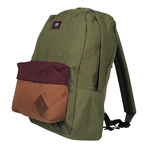 Vans Old Skool II Backpack - Mochila unisex, color, talla One Size Multicolor (Grape Leaf Colorblock)
