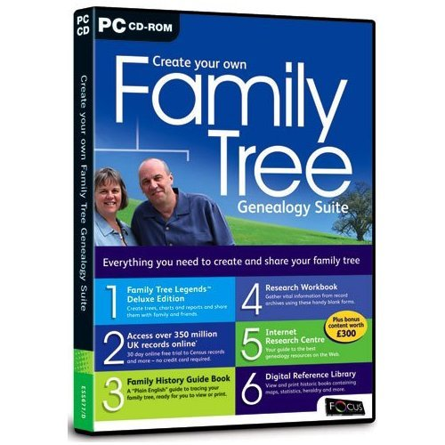 amazon com create your own family tree genealogy suite pc cd uk
