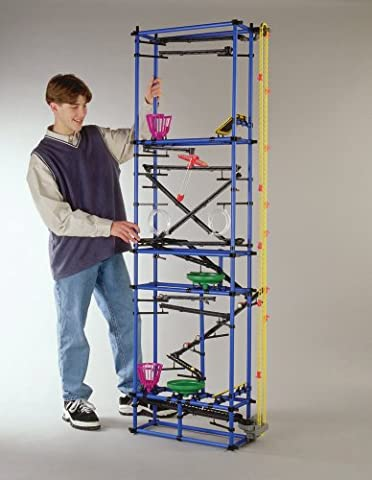 Chaos Millenium Tower - Marble Run Kit - Chain Reaction Game for Kids - Ages 8+, 602 Pieces, 78