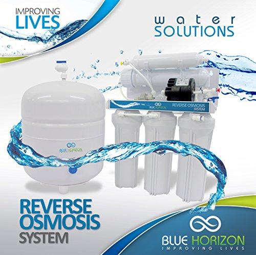 Sistema de filtro de agua potable de smosis inversa ultra seguro con bomba, filtrado de alta potencia supremo, de nivel superior para casa con baja presin (ULTIMATE RO-PERM)