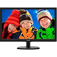 Philips V-line 223V5LSB 21.5 LED LCD Monitor - 16:9 - 5 ms