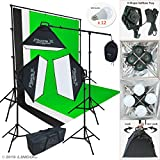 LINCO Lincostore 9600 Lumens Studio Photography Lighting kit with Auto pop-up Softbox AM247