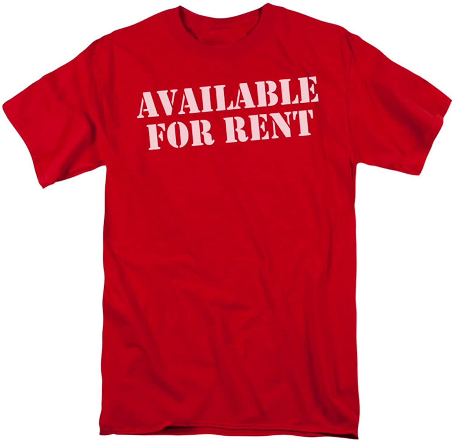 Funny Tees - Mens Available For Rent T-Shirt