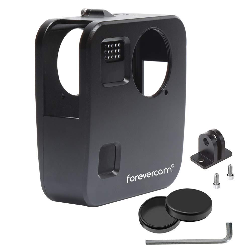 GoPro Fusion 360カメラケース アルミニウム合金レンズキャップ x 2 - GoPro用のベストな保護 FCF   B07CRMVQ7V
