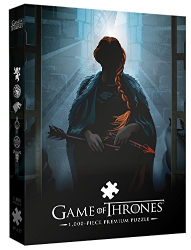 Game of Thrones Premium Puzzle: Your Name Will Disapear 1000 Piece Puzzle | A Beautiful Death Series Art Collectable Jigsaw Puzzles