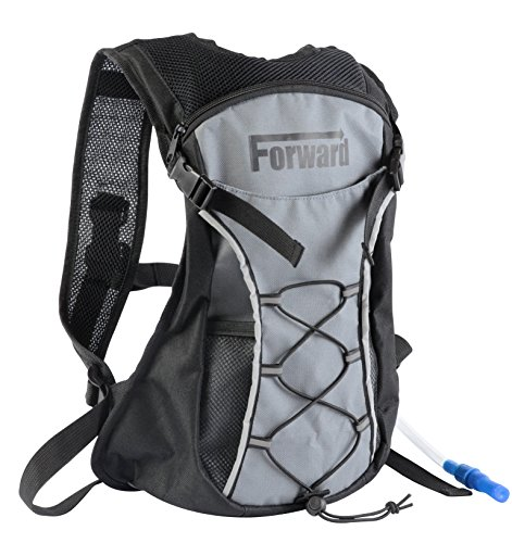 Hydration Pack with 2L 72 oz Water Bladder BPA Free & Lightweight for Hiking Biking Climbing Running Walking & All Sports and Recreational Hydration Backpack Needs by Forward