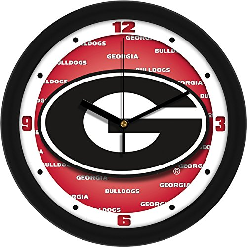 Georgia Bulldogs Round Clock - SunTime NCAA Georgia Bulldogs Wall Clock