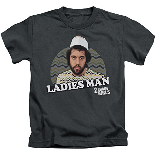 Price comparison product image 2 Broke Girls Ladie's Man Unisex Youth Juvenile T-Shirt For Girls and Boys