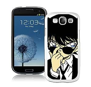 Easy use Detective Conan 13 White Samsung Galaxy S3 Case