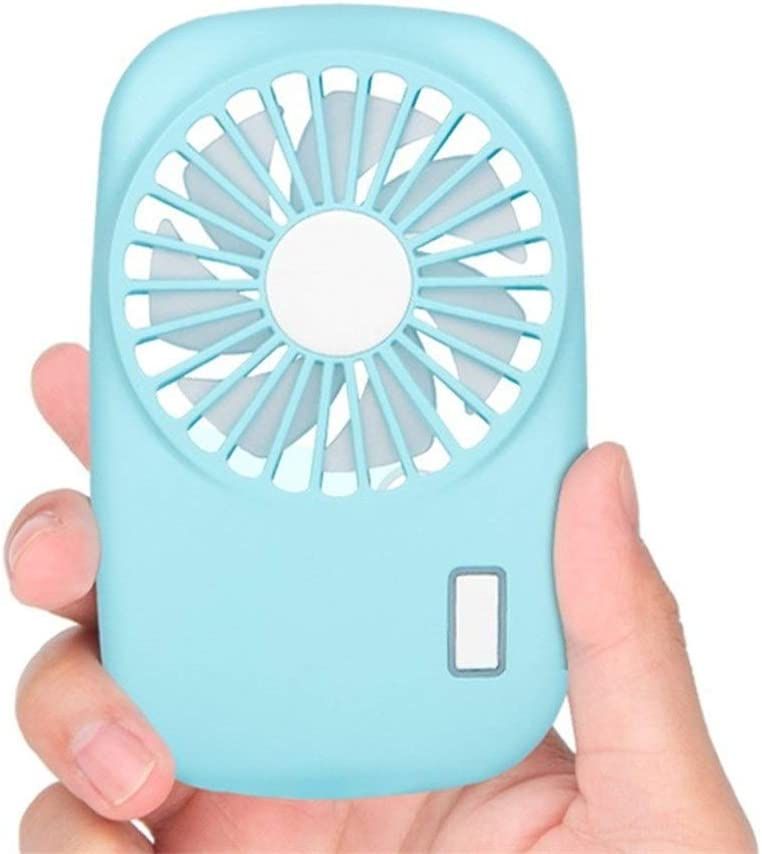 Color : Pink 1 XIANGNAIZUI Portable Mini Fan Handheld Personal Fan Home Office Desk Speed Adjustable USB Rechargeable Eyelash Fan Air Cooler Outdoor Travel