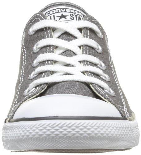 Converse Dainty Leath Ox 289050-52-17, Sneaker donna Marrone (Charcoal 010)