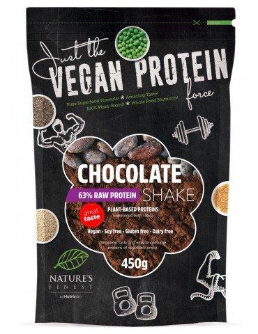 Nutrisslim NatureŽs Finest Chocolate 63% Protein Shake Endulzado con Stevia 450 gr: Amazon.es: Alimentación y bebidas