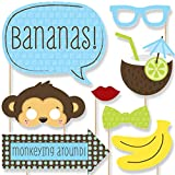 Monkey Boy - Photo Booth Props Kit - 20 Count