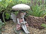 Miniature Fairy Carrissa – Mini Dollhouse Pieces Gnome Fairy Garden Village Accessories Decoration