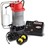 Ridgid 47333 RS50AT 1/2 HP Sump Pump System with Advanced Cellular Flood Monitoring