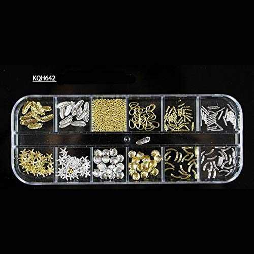 Nail Art Accessories - New Multi-size Nail Rhinestones 3D Crystal AB Clear Nail Stones Gems Pearl DIY Nail Decorations Gold Silver Rivet Rhinestone - -
