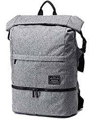 Work Gym Bag Backpack with Shoe Compartment, LYCSIX66 Water Resistant Travel Sports Duffels Business Rucksack...