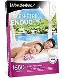 Wonderbox - Coffret cadeau couple - BIEN-ETRE EN DUO – 1680 massages, sauna, shiatsu, spa, hammam