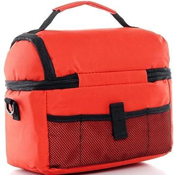 LU2000/Picnic bolsa para hombres Breakfast Lunch Box Holder Alimentos Contenedores Heavy Duty mantener caliente al aire libre populares uso