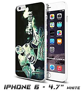 Hockey NHL Cory Schneider -Vancouver Canucks, Cool iPhone 6 - 4.7 Inch Smartphone Case Cover Collector iphone TPU Rubber Case White [By PhoneAholic]